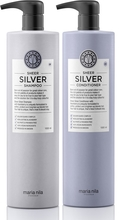 MARIA NILA PALETT SHEER SILVER SHAMPOO CONDITIONER 1000ml