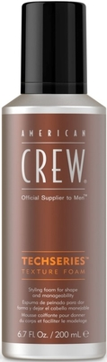 AMERICAN CREW TECHSERIES- TEXTURE FOAM 200ml